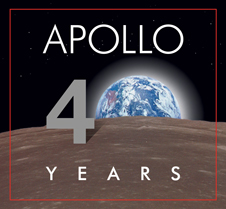 Apollo 40th Logo
