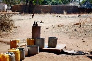 Running water for villagers.