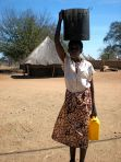 Woman Fetching Water