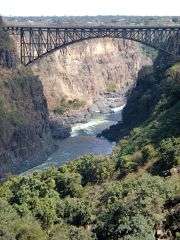 Bungee Bridge over Batoka Gorge