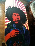San Marcos: Tantra Coffeehouse Jimmy Hendrix table