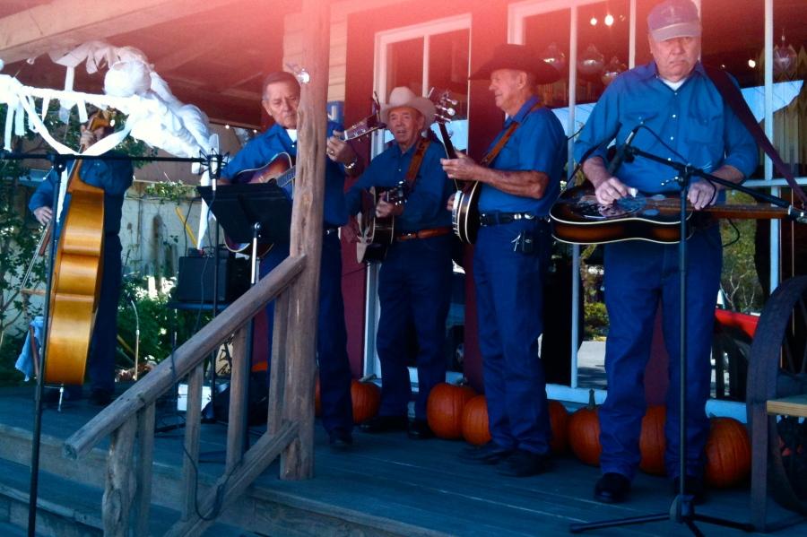 Wimberley blue grass band