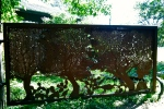 Wimberley art gate