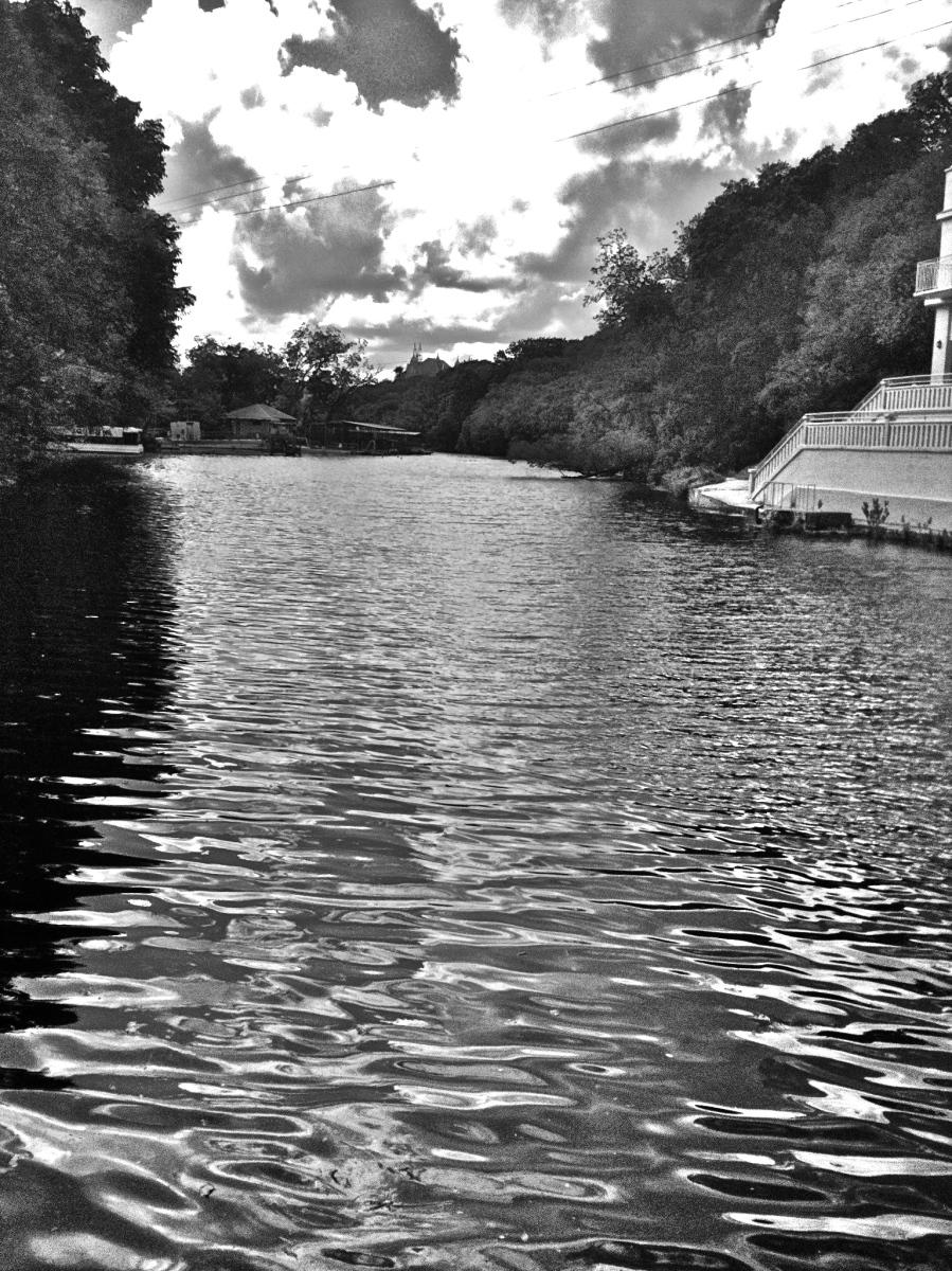 San Marcos Aquarena Springs river view