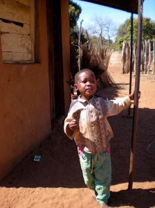 Boy in Mukuni Village