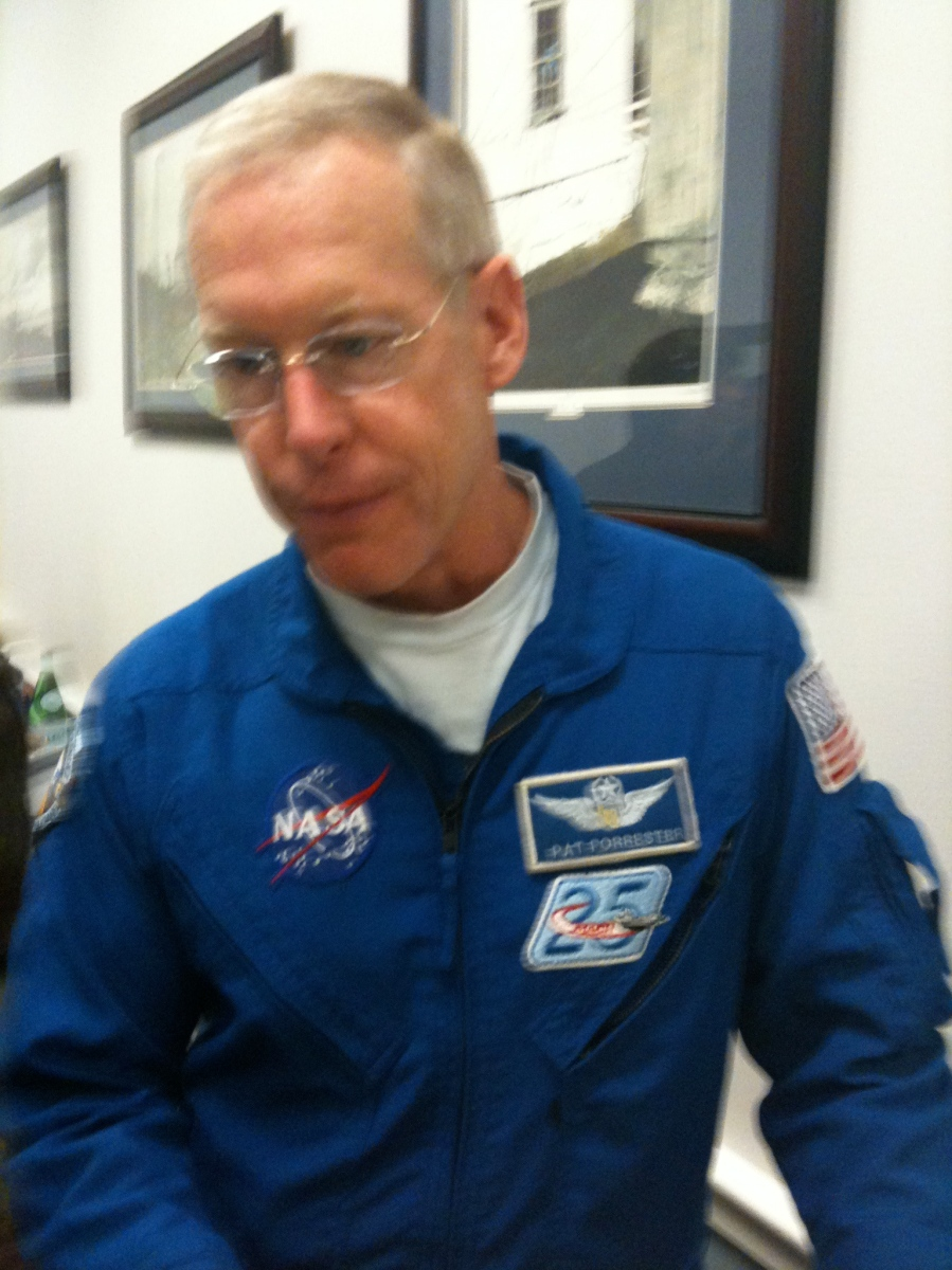 STS-128 Astronaut Patrick Forrester