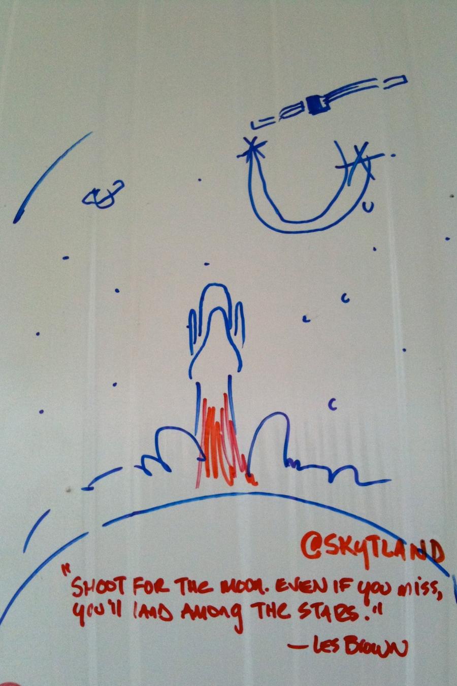 @skytland's shuttle tire doodles