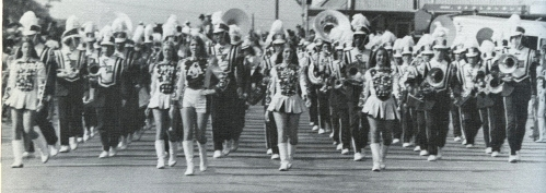 San Marcos High School band 1974