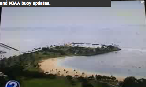 Hilo Bay: 3-ft swells in tsunami 3rd wave