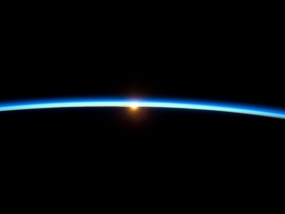 Earth: Thin Blue Line
