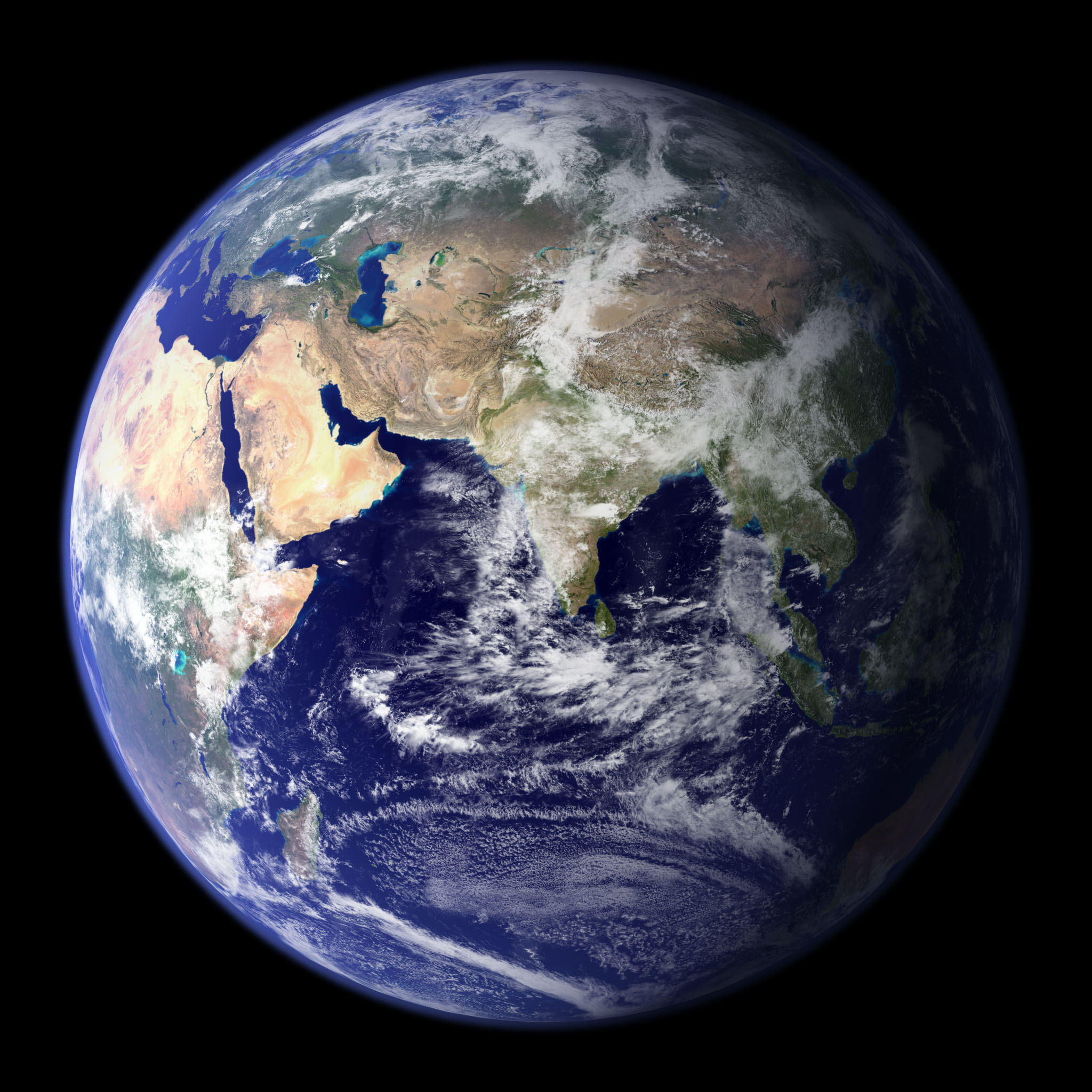 Earth: Blue Marble