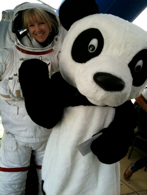 Even Panda Bears love space!