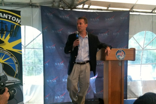 NASA's Chief Technology Officer, Bobby Braun