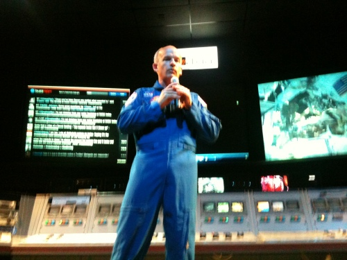 Astronaut Jeff Williams tells space stories.