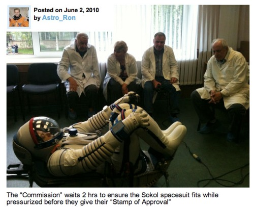 Astro_Ron in Sokol Spacesuit