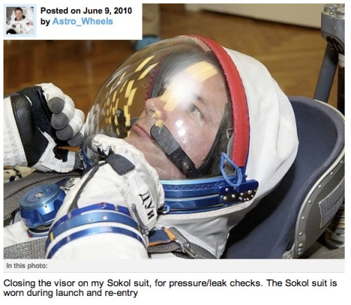 @Astro_Wheels Russian Sokol spacesuit.