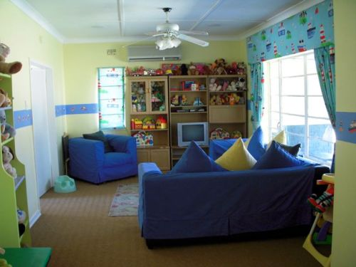 Bethany House: Toddler Living area.