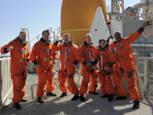 STS-133 crew