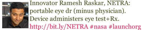 LAUNCH Innovator Ramesh Raskar