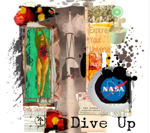 Dive Up for NASA by Tiffany Michelle Bohrer