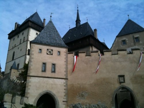 Karlstejn Castle outside Prague: home of the Holy Roman Empire.
