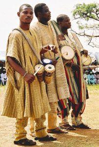 Nigeria Yoruba Drummers