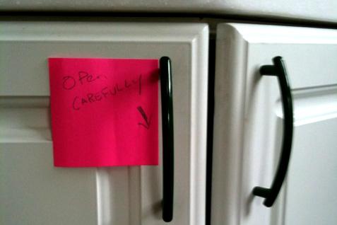 Broken Cabinet Door