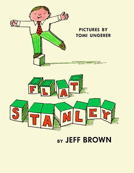 """Flat Stanley"" book by Jeff Brown, 1964"