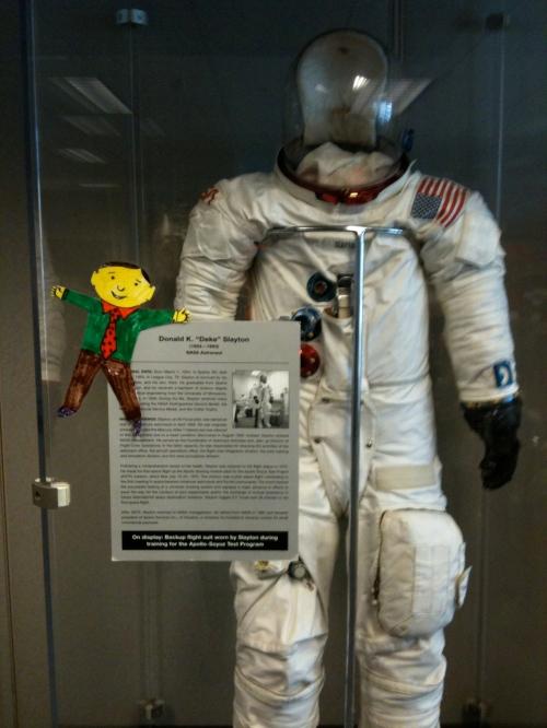 Astronaut Deke Slayton's spacesuit.
