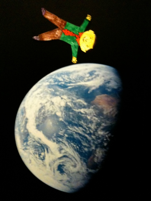 Flat Stanley on Top of the World