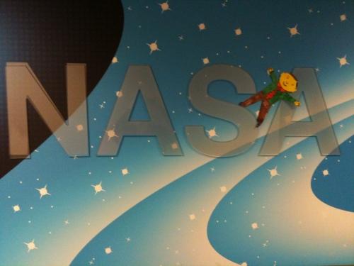 Flat Stanley Visits NASA