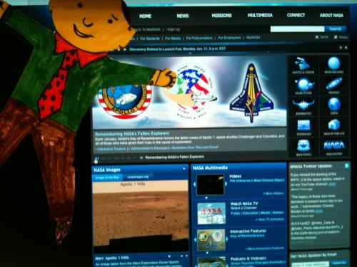 Flat Stanley: NASA Day of Remembrance