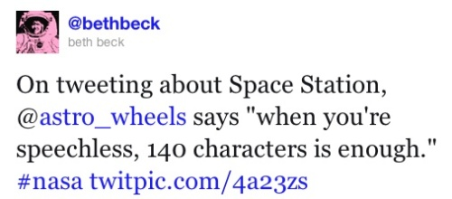 Describing Space, Astro_Wheels is speechless