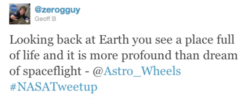@Astro_Wheels describes Earth