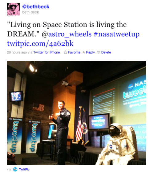 @Astro_Wheels Living the Dream