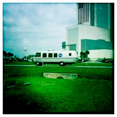 AstroVan returning Crew
