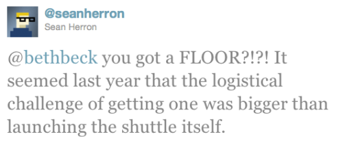 @SeanHerron Floor Tweet