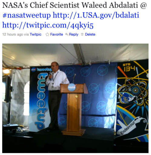 NASA's Chief Scientist Waleed Abdalati