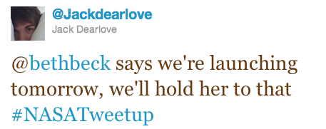 BBC's @JackDearLove tweet