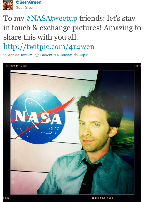@SethGreen tweet