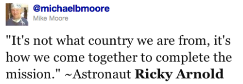@michaelbmore quoting Ricky Arnold