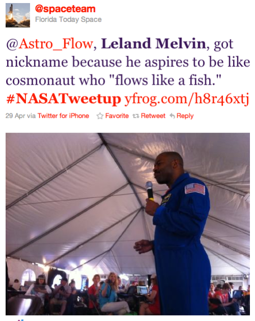 @SpaceTeam tweet about @Astro_flow