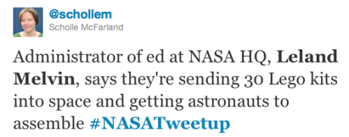 @schollem lego tweet about @Astro_flow