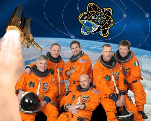 STS-134 crew