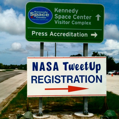 NASA tweetup registration