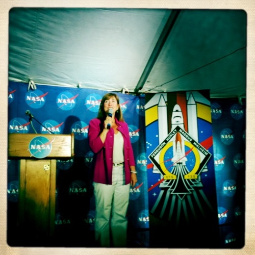 NASA Deputy Lori Garver addresses space tweeps