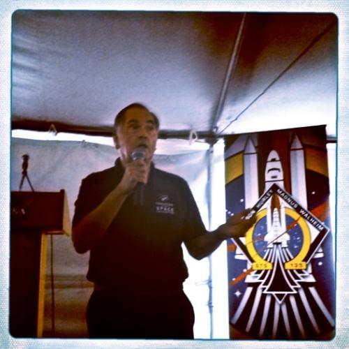 STS-1 Pilot Bob Crippen
