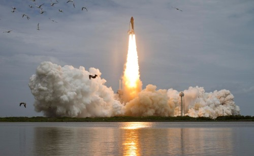 STS-135 Atlantis Launch. Photo credit: NASA/Bill Ingalls