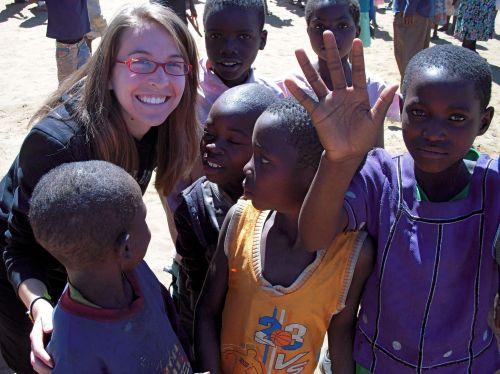Steph in Africa