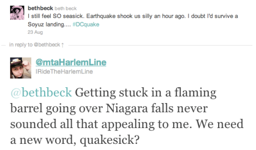 quake tweet